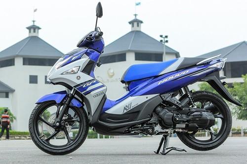Yamaha khai tu xe tay ga Nouvo tai Viet Nam-Hinh-2