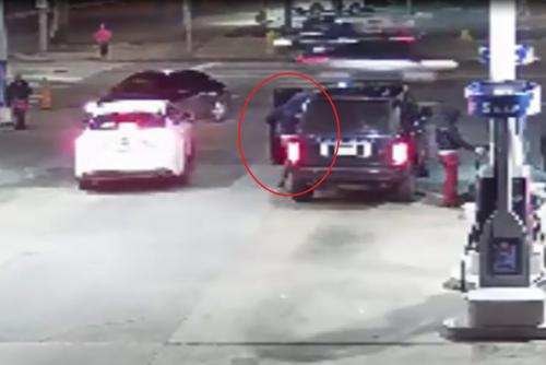 Trom xe sang Range Rover chi trong vong mot not nhac