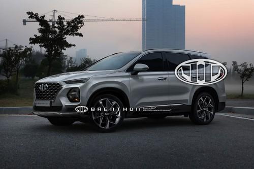 Hyundai SantaFe 2018 mang cam hung tu Hyundai Kona