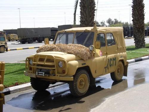 Quan doi Slovakia loai bo hoan toan xe UAZ Nga