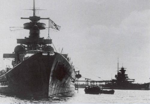 Phan tham thiet giap ham lop Scharnhorst cua phat xit Duc (2)