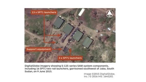 Nam Sudan am tham trien khai ten lua phong khong S-125