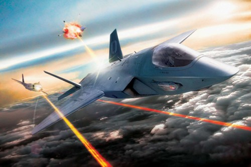 Han Quoc phat trien vu khi laser doi pho UAV Trieu Tien