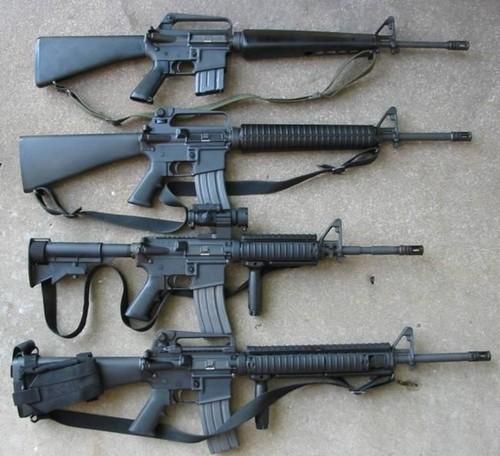 Bat ngo: Ukraine san xuat sung truong M16 My thay AK