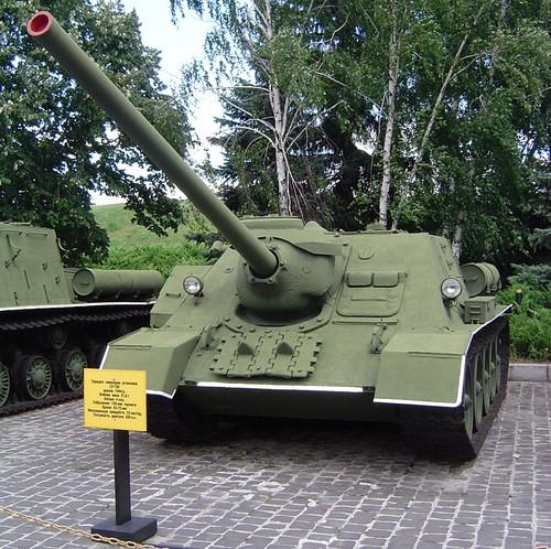 Dieu chua biet ve khau phao tren xe tang T-54/55 Viet Nam