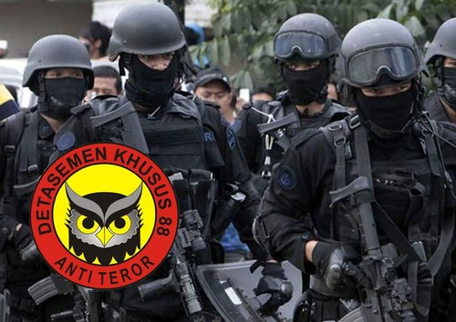 Dac nhiem chong khung bo 88 Indonesia: Non tre ma gioi