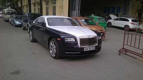 "Rolls-Royce Wraith moi ve Viet Nam da ""ruoc"" bien so sieu khung"