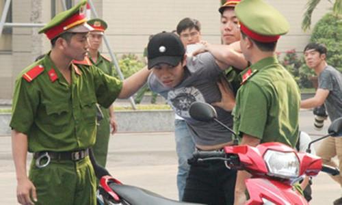 TPHCM ra mat luc luong Canh sat Hinh su dac nhiem tran ap toi pham-Hinh-2