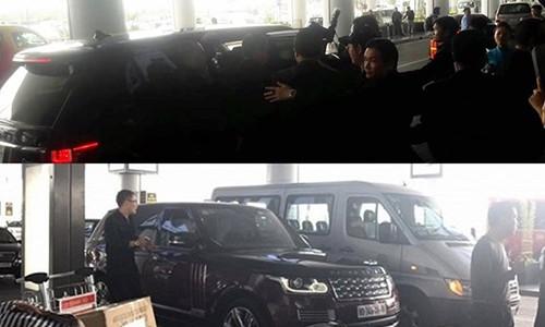 Seungri (Big Bang) duoc ho tong bang xe sang tai Noi Bai