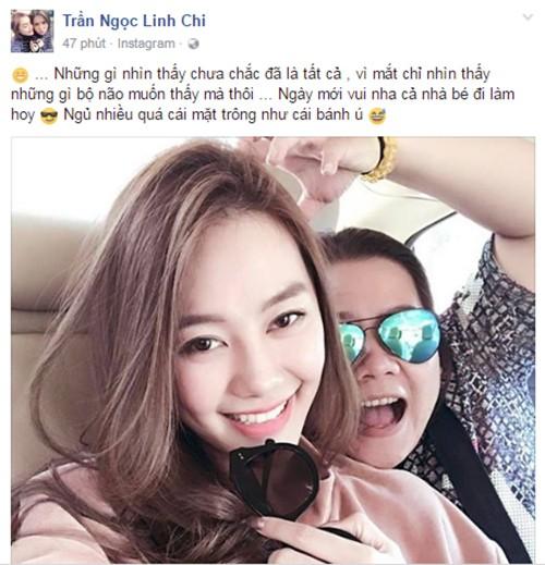 Bi vo Lam Vinh Hai to la nguoi thu ba, Linh Chi noi gi?-Hinh-3
