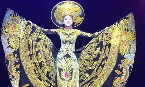 Viet Nam thang giai Trang phuc dan toc tai Miss Heritage Global