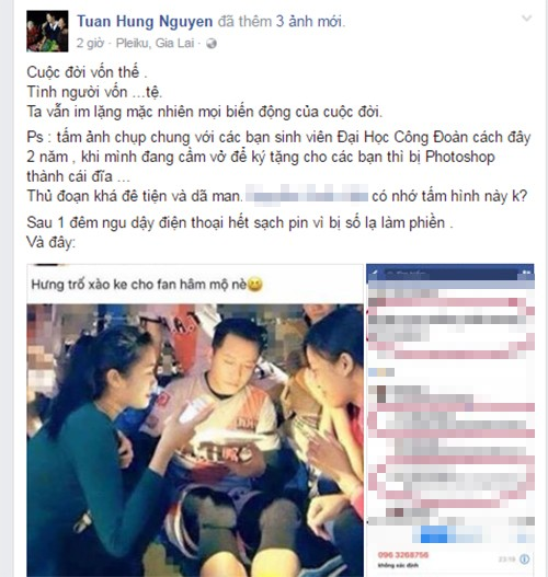 Tuan Hung len tieng ve anh bi nghi dung chat kich thich