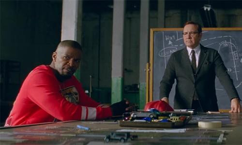 """Tuong vang Oscar Kevin Spacey - Jamie Foxx """"bat tay"""" dong phim hai"""