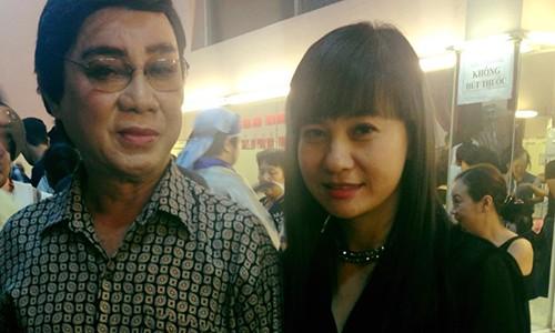 Hoai Linh, Cat Phuong tiec thuong nghe si Thanh Sang qua doi-Hinh-2