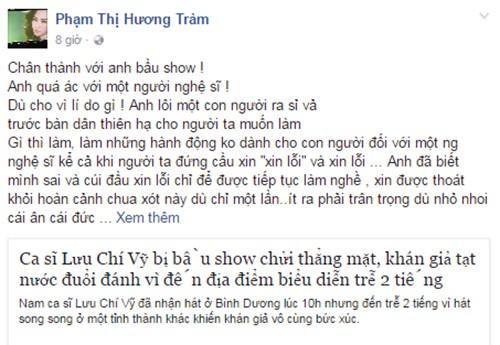 Huong Tram, Cao Thai Son benh Luu Chi Vy vu den tre bi nem ghe-Hinh-3