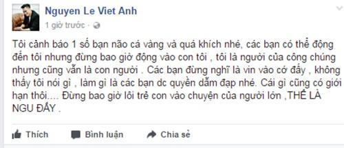Viet Anh phan ung du doi khi con bi keo vao lum xum-Hinh-2