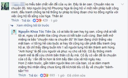 """Toc Tien: """"Dang buon khi tung ho Phuong Nga la anh hung""""-Hinh-3"""