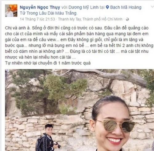 Duong My Linh chia tay Bang Kieu vi bi lua gat, danh dap?-Hinh-2