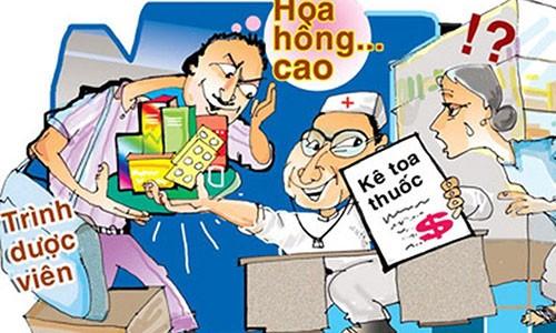 "VN Pharma nhap thuoc chua ung thu gia: Nhung ai la ""bac si hoa hong""?"