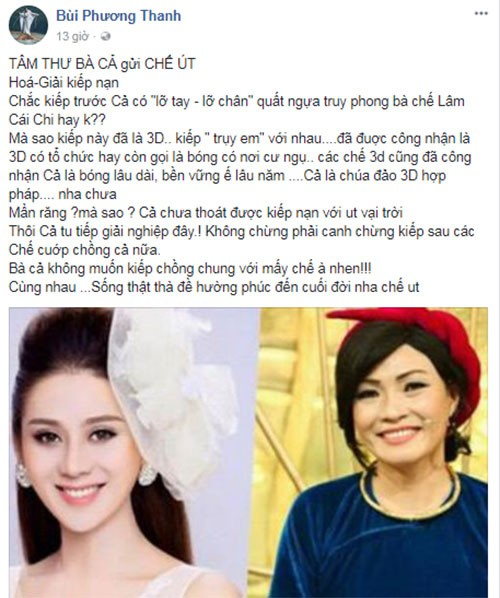 Bi to bung show, Phuong Thanh sau cay dap tra Lam Khanh Chi-Hinh-2