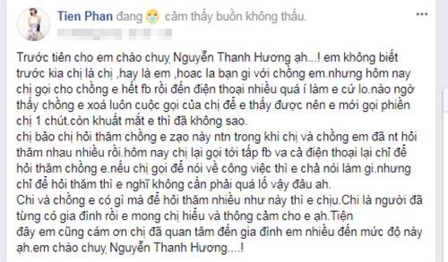 "Vo Duy Khanh ghen, ""to"" Thanh Huong quan tam chong co thai qua-Hinh-2"