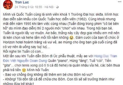 Tran Luc tiet lo ly do Quoc Tuan khong sinh them con-Hinh-2