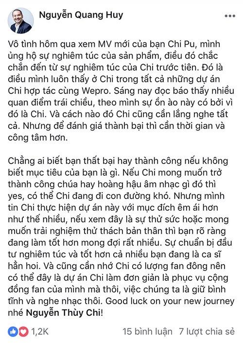 Nghe si tranh cai, khen - che ve giong hat cua Chi Pu-Hinh-6