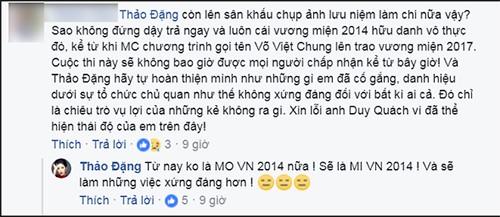 Dang Thu Thao quyet tu bo danh hieu Hoa hau Dai duong 2014-Hinh-2