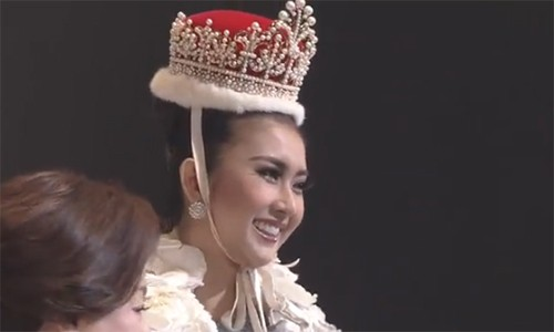 Thuy Dung truot top 15, nguoi dep Indonesia dang quang Miss International