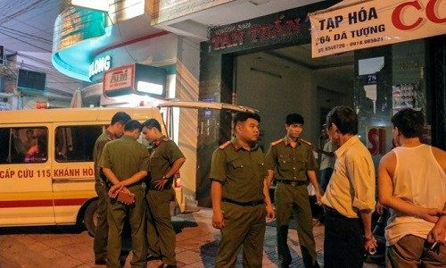 Khanh Hoa: No binh ga may lanh, 1 nguoi tu vong