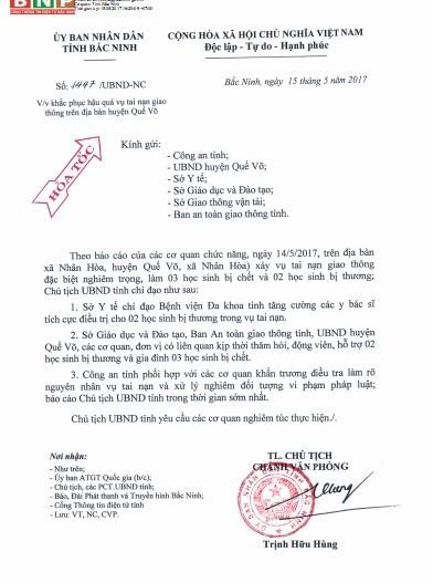 """O to """"dien"""" mat lai dam 5 nguoi: Chu tich Bac Ninh chi dao khan-Hinh-2"""