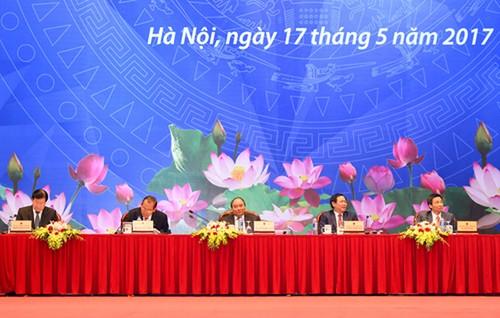 Thu tuong tin cong dong doanh nghiep da thay no luc cua Chinh phu