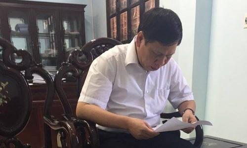 Pho Chi cuc Thue huyen Que Vo noi gi ve thong tin de doa doanh nghiep?-Hinh-2