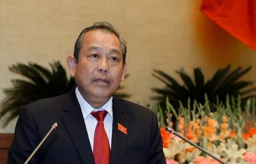 "Pho Thu tuong Truong Hoa Binh noi ve ""tu duy nhiem ky rat tinh vi"""