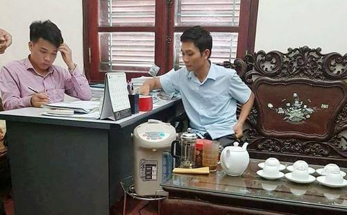 Thuc hu vu TGD Cty HADU 79 bi to cao de doa phong vien-Hinh-2
