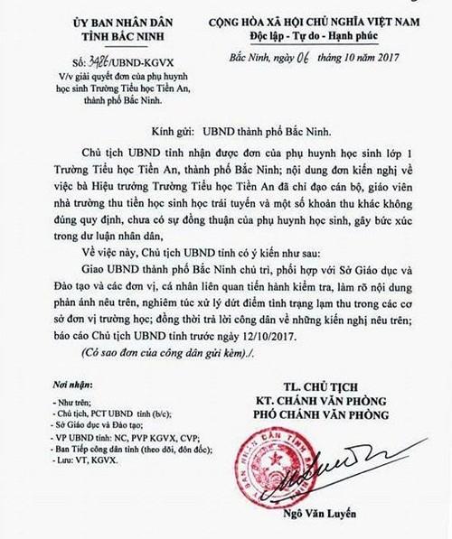 """Bi phu huynh to thu nhieu khoan """"la doi"""", nha truong tra lai hang tram trieu-Hinh-2"""