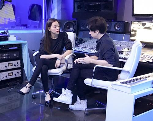 Ho Ngoc Ha sang My gap nha san xuat cua Lady Gaga-Hinh-3