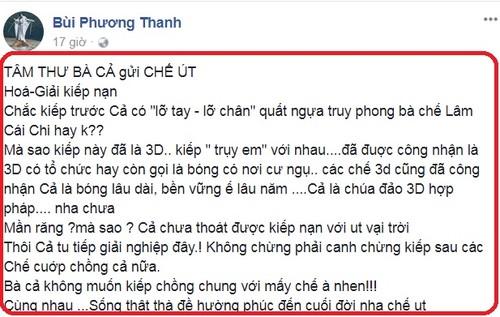 "Lam Khanh Chi buc xuc: Phuong Thanh ""be lai"" si nhuc LGBT-Hinh-3"