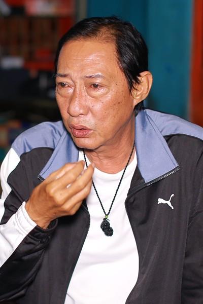 Phan doi dang thuong cua nghe si Le Binh: Vo co bac, con nghien hut
