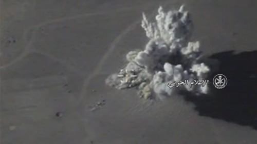 Nga doi bom pha nhieu can cu IS o Syria