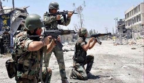 Khong quan Nga mo duong cho quan doi Syria giai phong Uqayribat