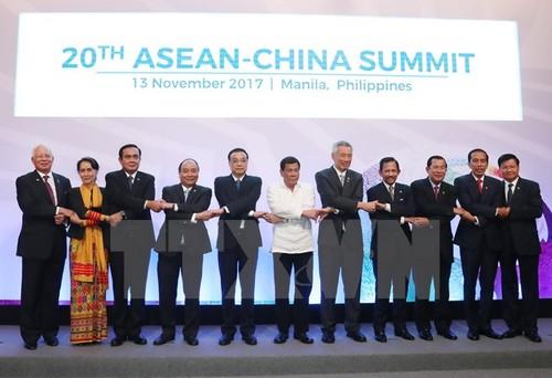 ASEAN va Trung Quoc cam ket bao ve moi truong o Bien Dong