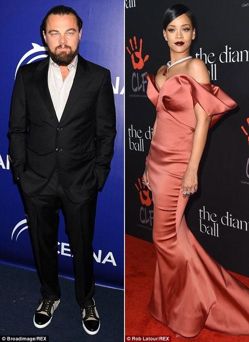 Leonardo DiCaprio bi bat gap hon Rihanna