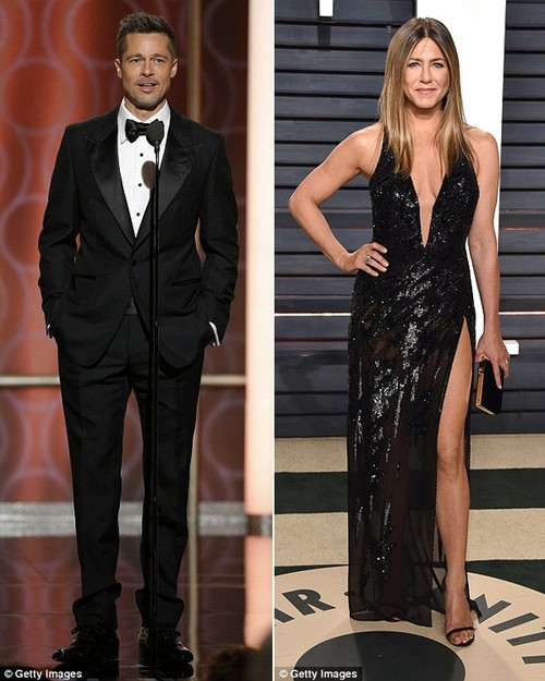 Brad Pitt nhan tin chuc mung sinh nhat vo cu, Jennifer Aniston