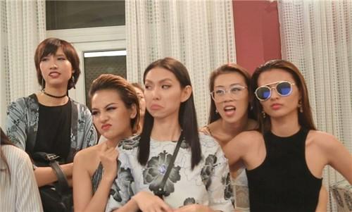 Ngan ngam Vietnam's Next Top Model 2017 dan dung drama thieu muoi
