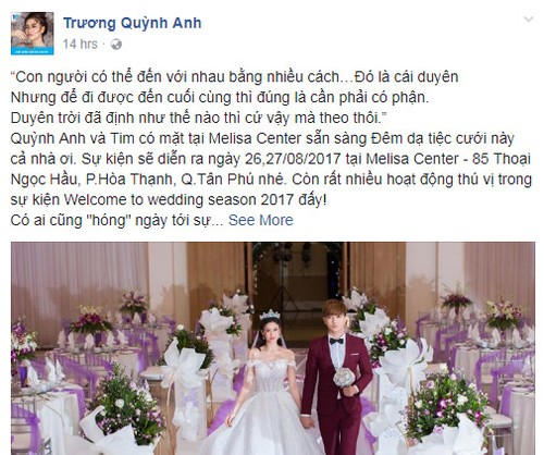 Su that khong ngho ve dam cuoi Truong Quynh Anh – Tim-Hinh-2