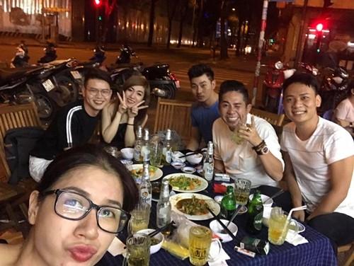 Trang Tran than nhien nhu chua he co chuyen chui NS Xuan Huong