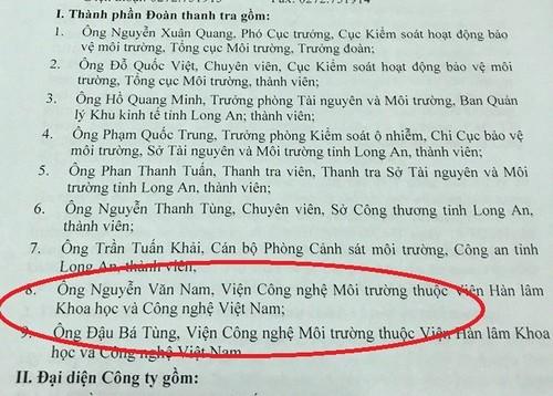 Cuc pho mat trom gan 400 trieu: Thanh vien 'la' trong doan thanh tra