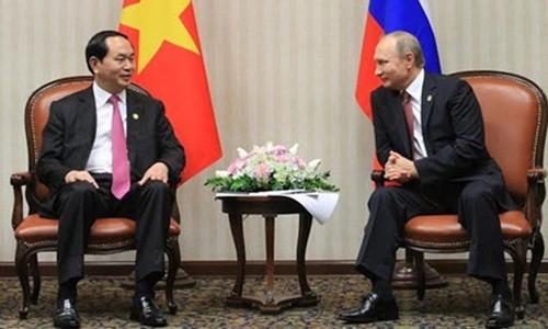 Tong thong Nga Vladimir Putin se toi Viet Nam du APEC