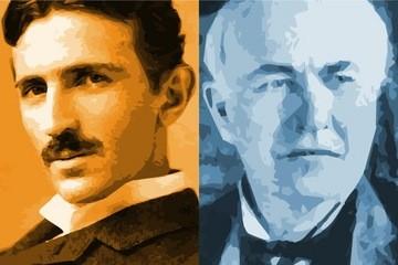 So sanh thu vi giua hai thien tai Nikola Tesla va Thomas Edison